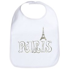 Paris Eiffel foil 01 Bib