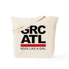 Rock Like a Girl Tote Bag