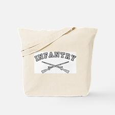 ARMY INFANTRY CROSSED RIFLES Tote Bag
