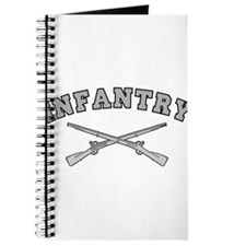 ARMY INFANTRY CROSSED RIFLES Journal