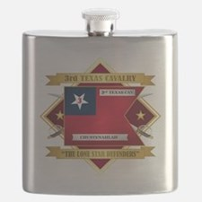 3rd Texas Cavalry Flask
