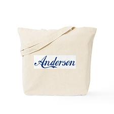 Anderson (cursive) Tote Bag