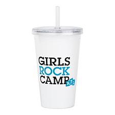Girls Rock Acrylic Double-Wall Tumbler