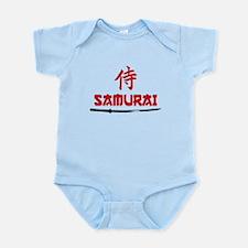 Samurai Kanji and text Body Suit