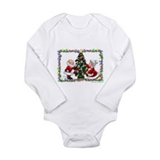 Trimming the Tree Long Sleeve Infant Bodysuit