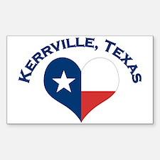 Kerrville, Tx Decal