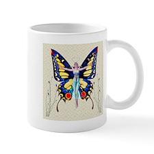 Art Deco Sensual Bfly Flapper Mugs