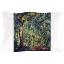 Weeping Willow by Claude Monet Pillow Case