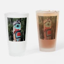 Native American Totem Pole,  Anchor Drinking Glass