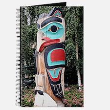 Native American Totem Pole,  Anchorage, Al Journal