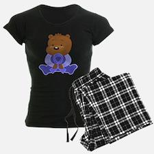 Periwinkle Ribbon Awareness Bear Pajamas