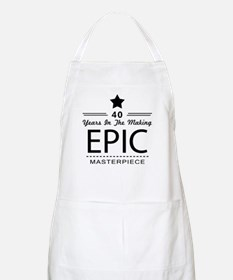 40th Birthday 40 Years Old Apron