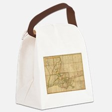 Vintage Map of Louisiana (1816) Canvas Lunch Bag