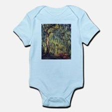 Weeping Willow by Claude Monet Body Suit