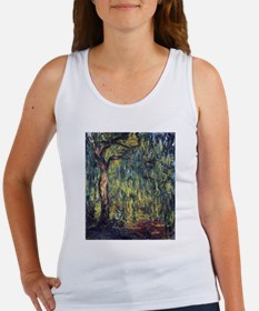 Weeping Willow by Claude Monet Tank Top
