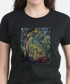 Weeping Willow by Claude Monet T-Shirt