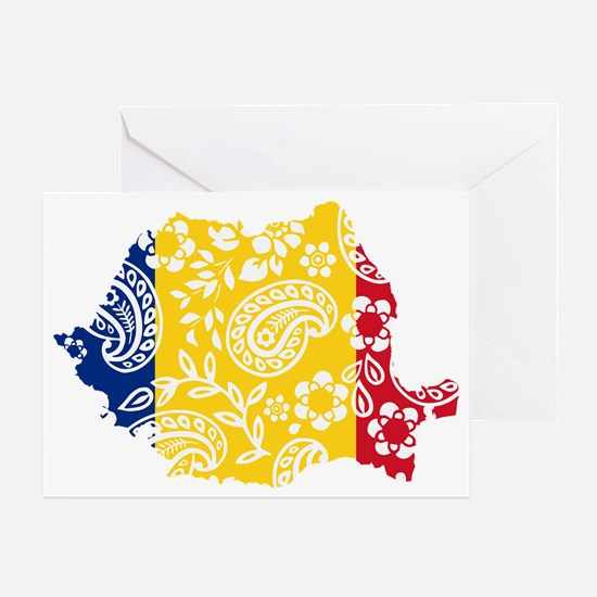 Paisley Romania Greeting Card