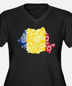 Paisley Romania Plus Size T-Shirt