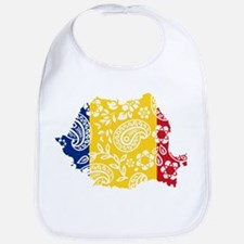 Paisley Romania Bib