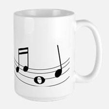 Music Notes Ceramic Mugs