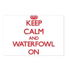 Keep calm and Waterfowl O Postcards (Package of 8)