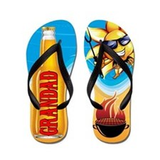 Grandad Beach Bbq Flip Flops
