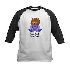 Personalized Periwinkle Awareness Bear Baseball Je