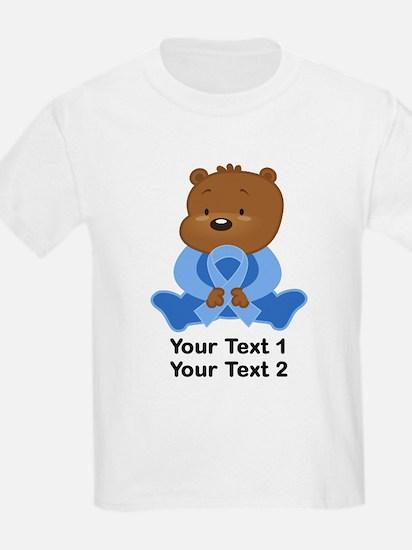 Light Blue Awareness Bear T-Shirt