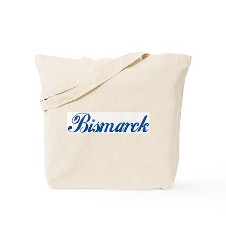 Bismarck (cursive) Tote Bag