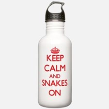 Keep calm and Snakes O Water Bottle