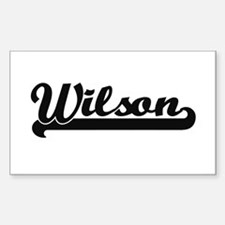 Wilson surname classic retro design Decal