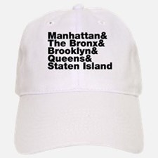 Five Boroughs New York City Baseball Baseball Cap