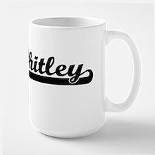 Whitley surname classic retro design Mugs