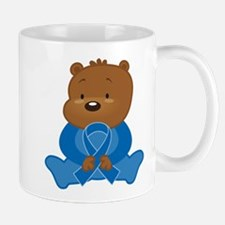 Blue Awareness Bear Mug