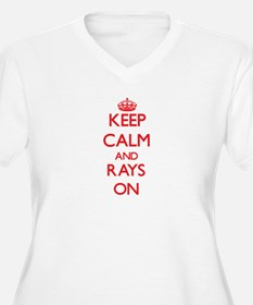 Keep calm and Rays On Plus Size T-Shirt