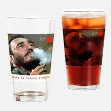 Unique Fidel Drinking Glass