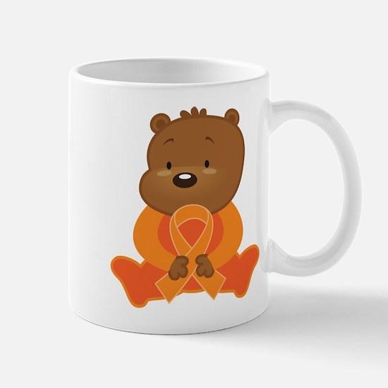 Orange Awareness Bear Mug