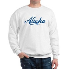 Alaska (cursive) Sweatshirt
