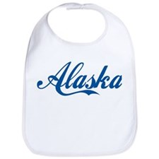 Alaska (cursive) Bib