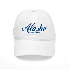 Alaska (cursive) Baseball Cap