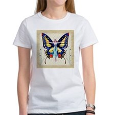 Art Deco Leyendecker Lady B'fly T-Shirt
