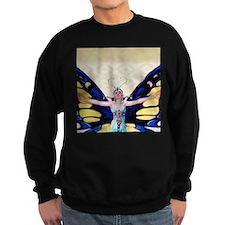 Art Deco Leyendecker Lady B'fly Sweatshirt