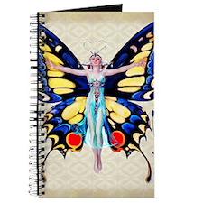 Art Deco Leyendecker Lady B'fly Journal