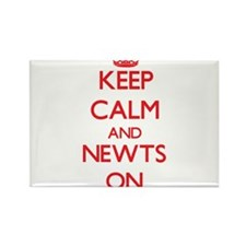 Keep calm and Newts On Magnets