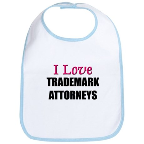I Love TRADEMARK ATTORNEYS Bib