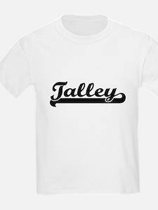 Talley surname classic retro design T-Shirt