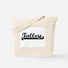 Talley surname classic retro design Tote Bag
