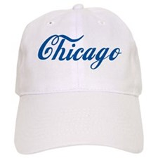 Chicago (cursive) Baseball Cap
