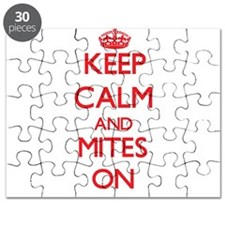 Keep calm and Mites On Puzzle
