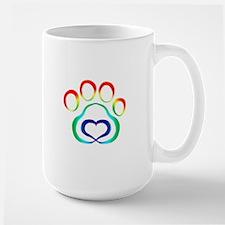 Rainbow Paw Mugs